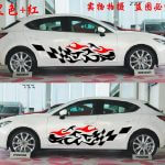 nueva-para-mas-carro-del-coche-del-vinilo-llamas-y-race-sport-stripes-body-sticker-side